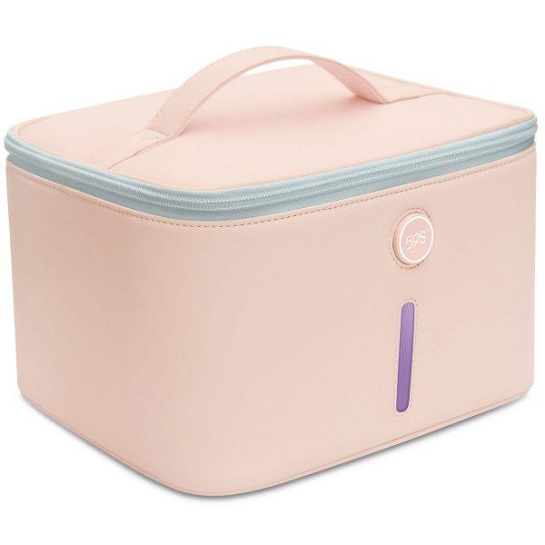 Portable UV-C Sterilizer Bag for Personal Hygiene Items, Underwears, Masks, Phones, Keys, Cash, Hygiene Kit & Salon Make-up Sanitizer