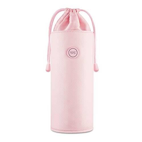UV-C LED Sterilizer Bag for Personal Use, Adult Toys, Salon Make-up & Nail Tools Sanitizer - Pink