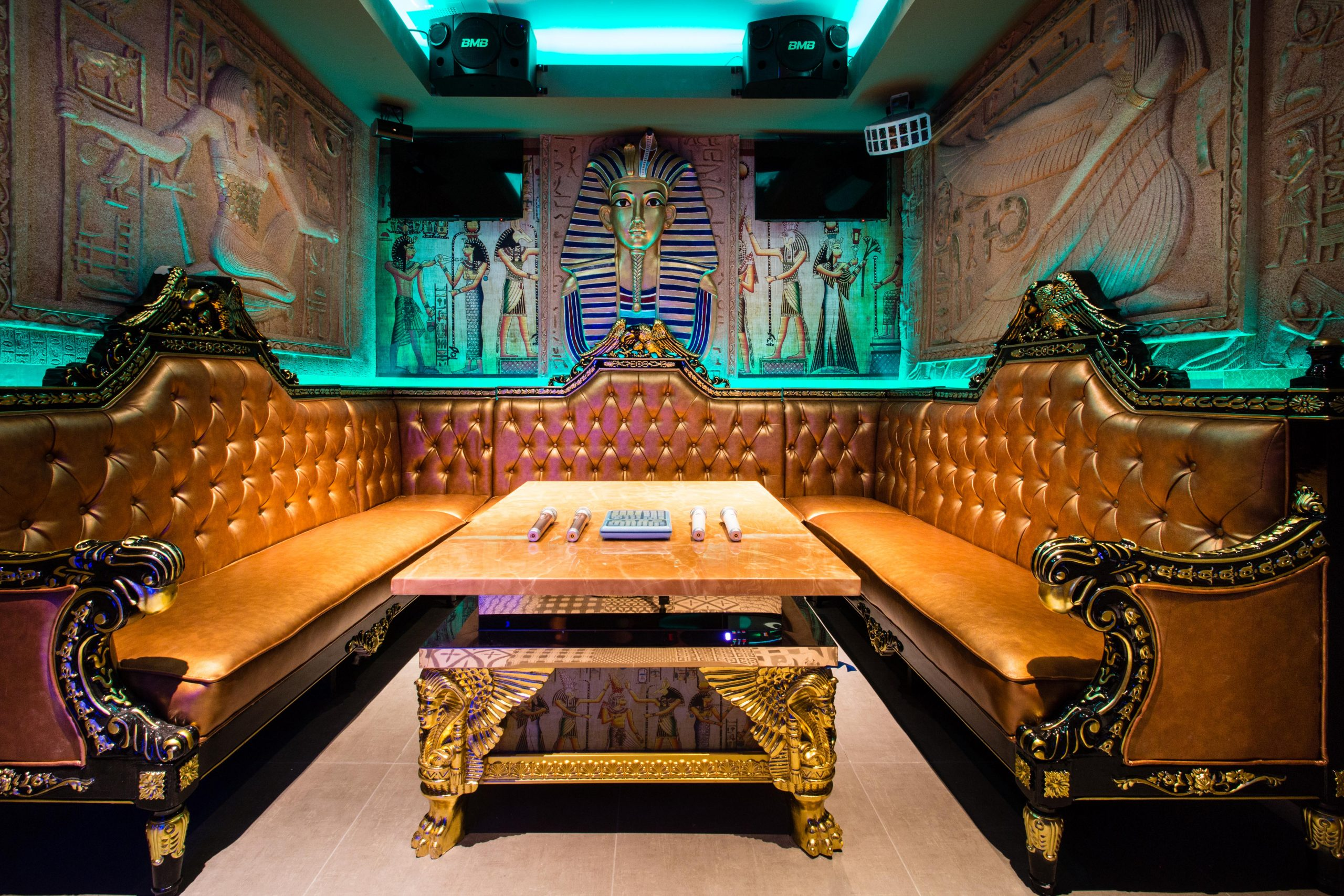 One of the themed rooms in Kamu Ultra Karaoke